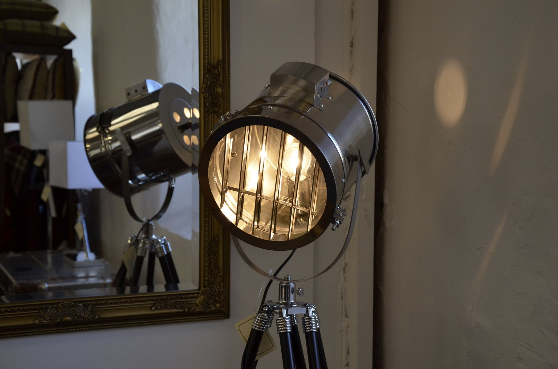 Hollywood Tripod Floor Lamp Stage Light