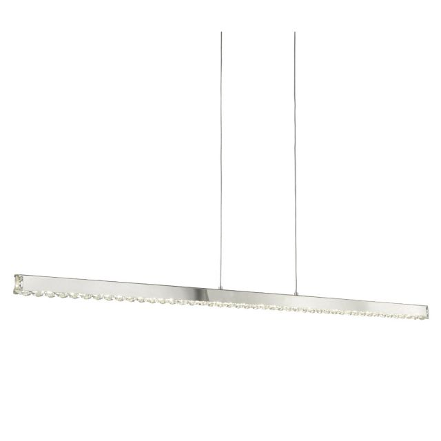 Liz Crystal Bar Pendant Light
