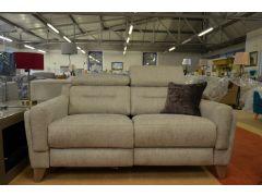 1801 2 Seater Recliner Sofa in Bexley Grey Fabric