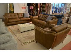 Saddler Leather Suite Maxi Sofa, Midi Sofa and Armchair SOLD MORE COMING SOON