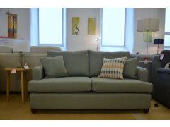 Sage Green 3 Seater Sofa with Scatter Cushions