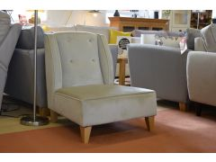 Armless Bedroom Chair