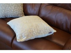 Hammered Pair of Scatter Cushions in  Beige