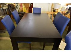 Black Ash Dining Table