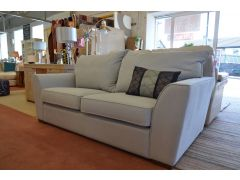 Soho Medium Sofa in Pale Blue Grey Fabric