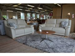 half price Italian leather sofas in Lancashire