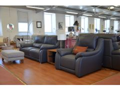Italian leather ex display sofas Lancashire discount settee clearance shop Degano Citi Triumph Italia Living
