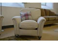Devonshire Armchair in Pale Fabric