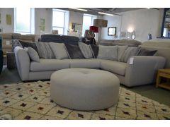 Salcombe corner sofa Lancashire fast delivery ex display sofas Clitheroe
