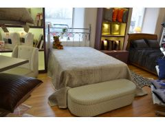 Double Divan Base with Headboard and Mattress
