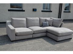 Imogen chaise sofa ex display sofas clearance outlet Lancashire furniture shop