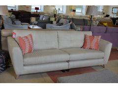 Holly 4 Seater Sofa in Herringbone Fabric