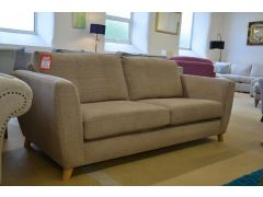 Holly 3 Seater Sofa in Cocoa Brown Fabric