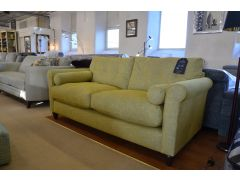 Phoebe Large 3 Seater Sofa in Bright Green Fabric