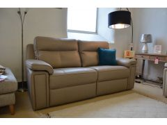 Hannington 3 seater recliner sofa in leather famous brand furniture made in Britain