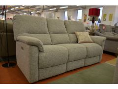 Chadwick Three Seater Sofa with Twin Power Recliners in Fabric
