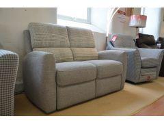 Prototype Fabric 2 Seater Sofa in Patchwork Design