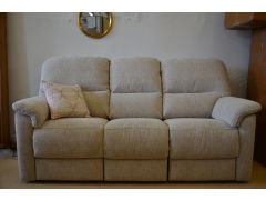 recliner sofa and tilt and lift armchair ex display sofa sale Cotswold two piece grey fabric suite clearance sofas Lancashire