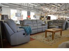 Chloe Leather Suite fast delivery sofa ex display sofas sale Lancashire