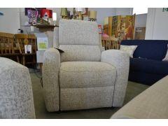 Elevate Armchair fabric tilt & lift electric recliner chair ex display Sofas Lancashire