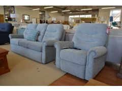 Holmes sofa and elevate armchair ex display sofas Lancashire