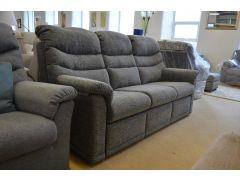Malvern 3 Seater Sofa with Electric Recliner on Left Hand Side