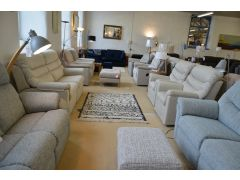 Malvern 3 Seater Sofa and Two Armchairs Three Piece Suite with Recliners