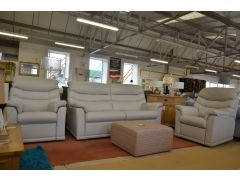 Malvern 3 Piece Suite 3 Seater Sofa and 2 Armchairs All Electric Recliners