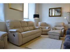 Mistral three piece suite ex display sofas British brand sofa with fast delivery