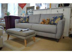 half price designer sofas lancashire Nancy three seater settee