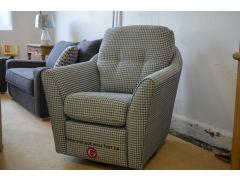 Flint Swivel Armchair with Power Footrest