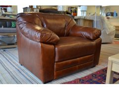 half price British Brand leather armchairs at Worthington Brougham Furniture in Clitheroe Lancashire