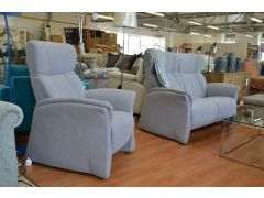 Himolla Lune Fabric Sofa and Armchair Set