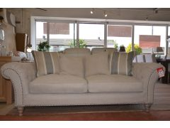 Keaton large fabric sofa chesterfield style in Clitheroe near accrington