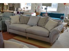 Keaton Grand Split Sofa Seats 4 with Scatter Back