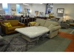 Beige Fabric 3 Seater Sofa Bed MORE COMING SOON