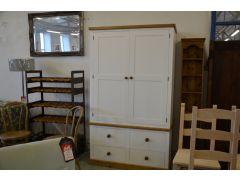 Large Larder Kitchen Storage Cupboard with Shelves & Drawers