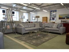 ex display sofas leather Whitemeadow corner settee Lancashire