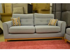 Linoso 3 Seater Sofa with Large Footstool