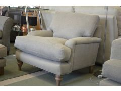 Rosie Armchair in Grey Fabric