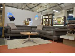 half price designer leather corner sofas in Lancashire