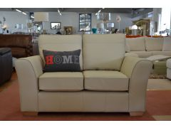 Lincoln Leather Two Piece Suite Two Seater Sofas