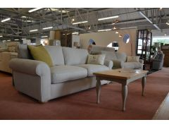 ex display sofa Madison beige Fabric Two Piece Suite sofas Lancashire Clitheroe off the A59 near Loom Loft - but half the price!
