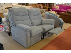 Malvern Two Seater Sofa with Half Manual Recliner