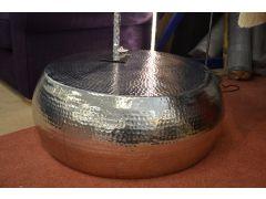 Marrakesh Coffee Table in Hammered Metal