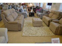 Norton Large Three Piece Suite 3 Seater Sofa, 2 Seater Recliner + Armchair