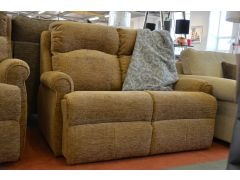 High back supportive fabric 2 seater sofa in Clitheroe Lancashire