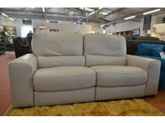 Olympus Three Seater Leather Sofa with Electric Recliners