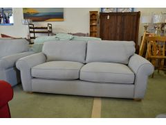 ex display sofa Madison grey Fabric Two Piece Suite sofas Lancashire Clitheroe off the A59 near Loom Loft - but half the price!