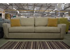Radley 4 Seater Sofa in Warm Grey with Feather Cushions